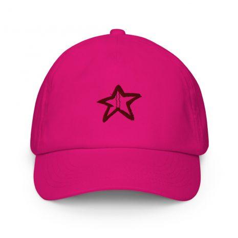 kids-baseball-cap-fuchsia-front-60de4df1e0405.jpg
